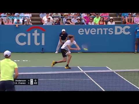 Alexander Zverev the champion in Washington | Citi Open 2017 Final Highlights
