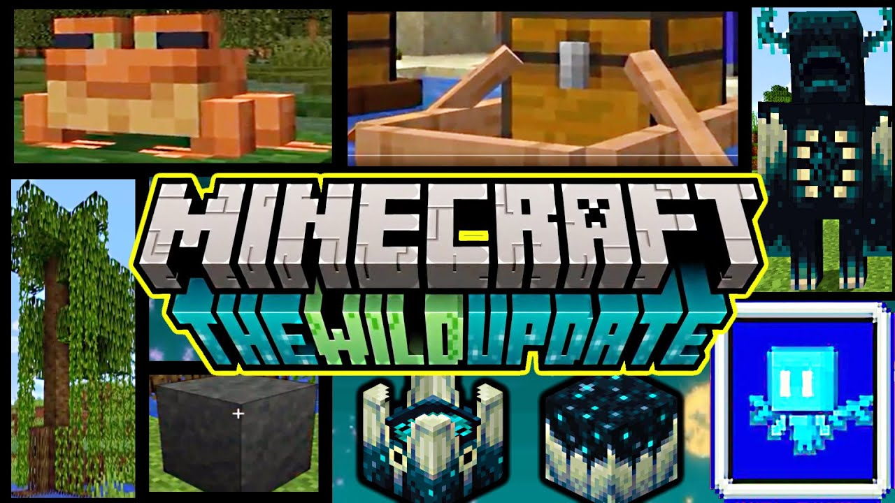 1.19 Minecraft Live 2021 Review- The Wild Update! Frog, Mud, Mangrove, Firefly...