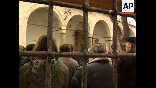 BOSNIA: SARAJEVO: MUSLIMS CELEBRATE EID AL ADHA FESTIVAL
