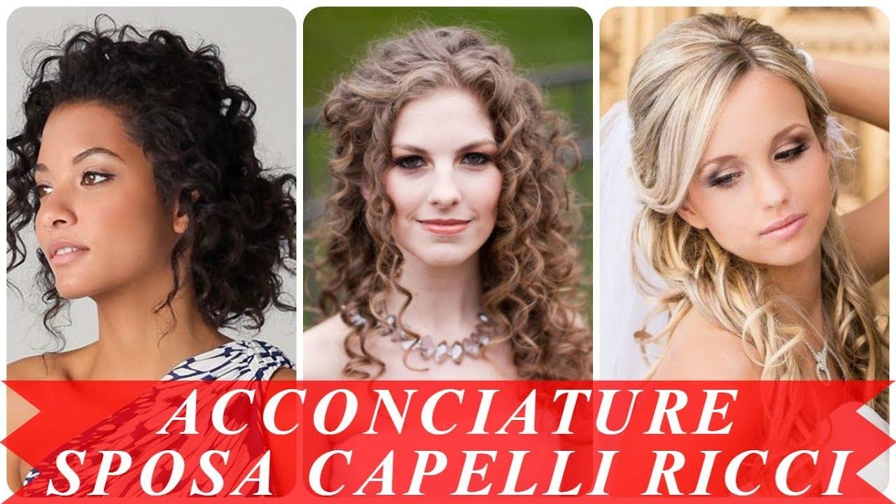 Ultimi Acconciature Sposa 2018 Capelli Ricci
