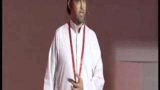 TEDxArabia 2011 | Ayman Jamal | Bilal & BatMan | أيمن جمال | بلال وباتمان