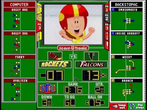Backyard Football 1999 season playthrough:Week 4-Rockets ...