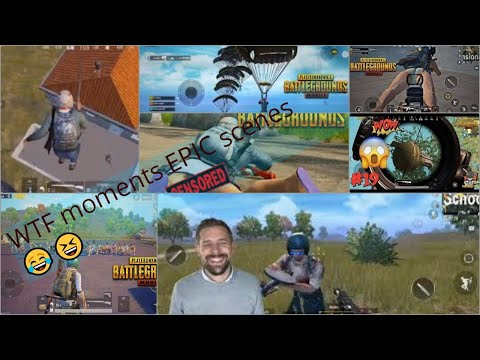 WTF Moments PUBG Epic scenes mobile beta version FPP Tips and Tricks WINNER WINNER CHICKEN DINNER
