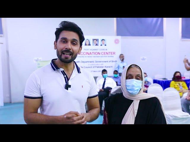 Abdullah Sultan | Covid-19 Vaccination Centre | Arts Council Karachi  #acpkhi #covid_19 #artscouncil