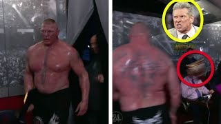 5 Times Brock Lesnar Got ANGRY For REAL in WWE - Why He Threw The Universal Title At Vince McMahon!