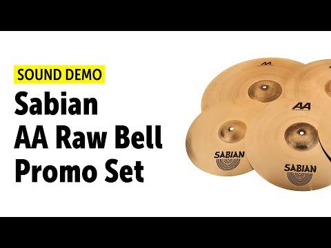Sabian AA Raw Bell Promo Set - Sound Demo