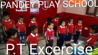 P. T. Exercise In Pandey Play Way School.