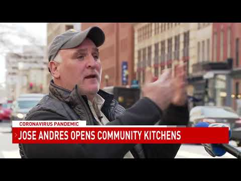 Jose Andres Opens 'community Kitchens' To Feed The Needy During Coronavirus Crisis