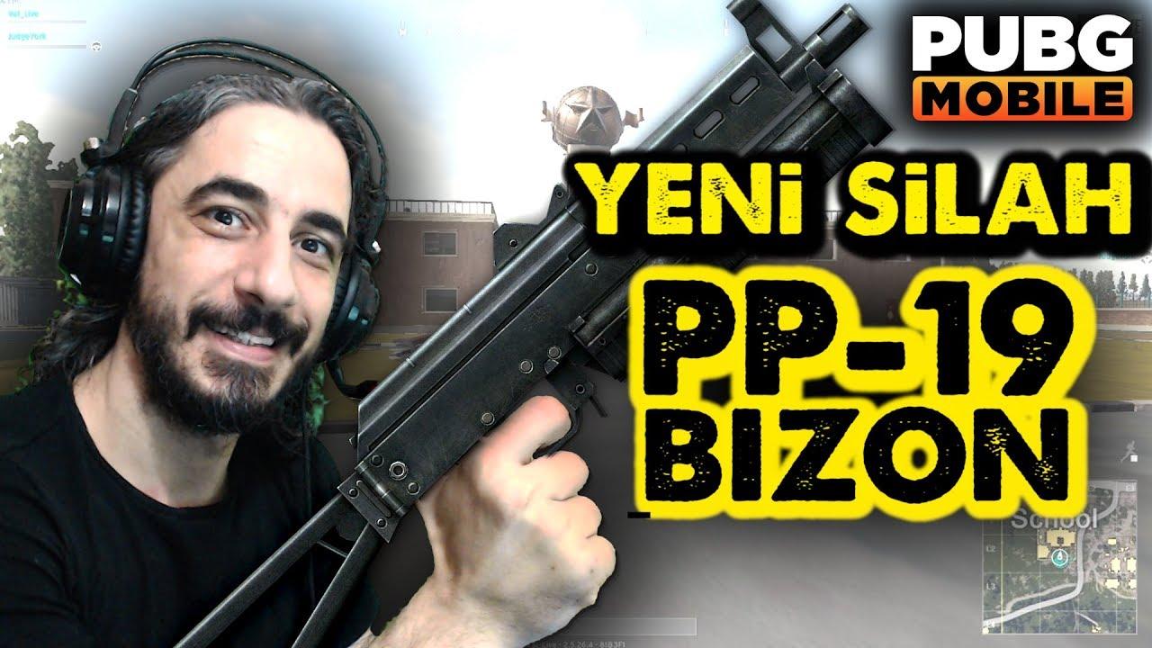 YENİ SİLAH PP-19 BIZON - PUBG Mobile