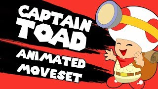 Captain Toad Moveset (Animated) - Super Smash Bros Ultimate
