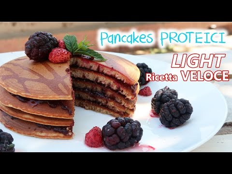 pancake proteici per dieta