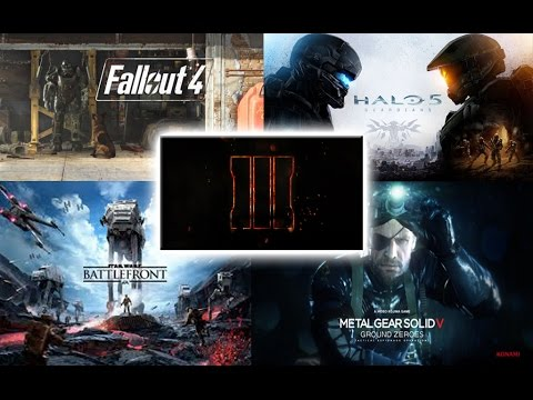 Top 5 Games Coming Out This Year 2015 2016 Youtube