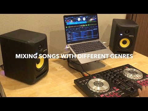 Pioneer DDJ SB3 | Mixing Songs with different Genres
