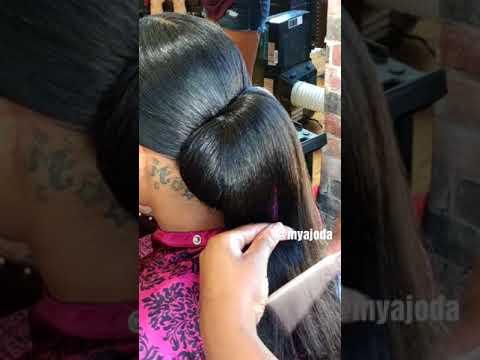 elegant-bun-using-braiding-hair