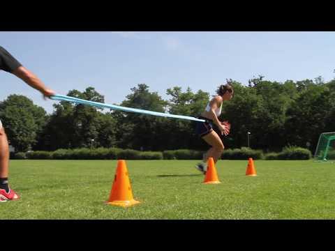 Andrea Petkovic' preparation for USOpen17 - Fitness