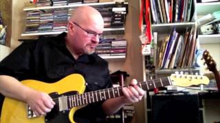Jazzy Jazz Jam - Fret-King Country Squire Classic