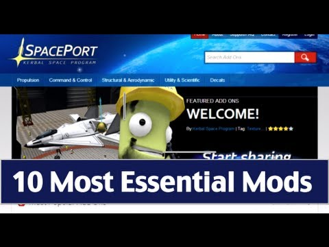 Kerbal Space Program - Guide To The 10 Most Essential Mods ...
