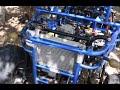 Installing fans on a Radiator for a Go Kart Hammerhead 250 SS