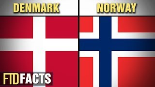 The Differences Between DENMARK and NORWAY