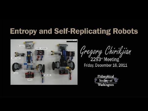 PSW 2293 Entropy and Self Replacating Robots