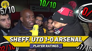 Sheffield Utd 1-0 Arsenal Player Ratings | Look Away Now Unai Emery! (Ft Troopz)