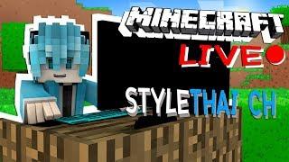 [🔴Live] Minecraft เอาชีวิตรอดคู่กับแบม EP.0 เริ่มต้นใหม่ (เปิดกล้อง)
