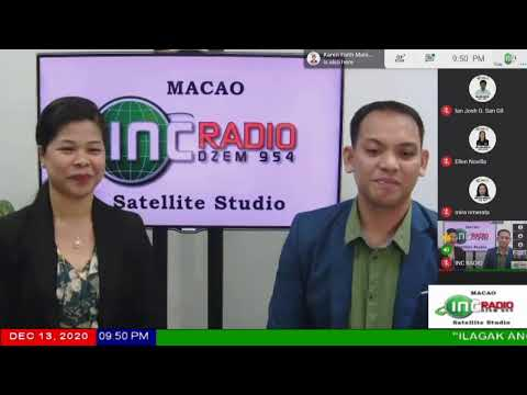INC RADIO MACAO | December 13, 2020