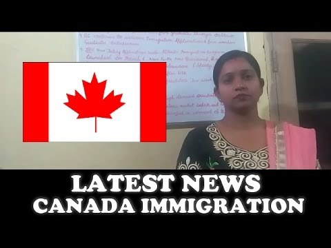 Latest News About Canada Immigration 2017 || Apply Online [ Hindi ]  #1