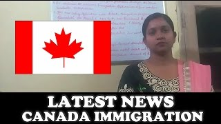 Latest News About Canada Immigration 2017 || Apply Online [ Hindi ]