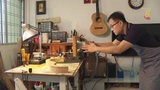 狮城有约 | 自学成才:纪念父亲 自制吉他 - YouTube