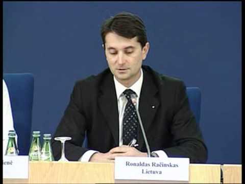 Education and propaganda  Moderator Ronaldas Račinskas