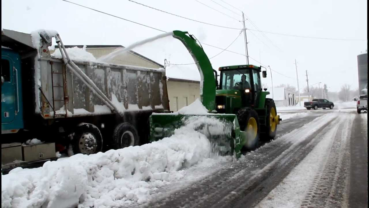 "Autos By Nelson >> Loftness ""I"" Series Snow Blower with a Truck-loading Spout - YouTube"