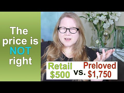 Laughably OVERPRICED Preloved Luxury || Autumn Beckman