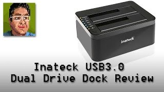 Inateck USB3 Dual Drive Docking Station Review