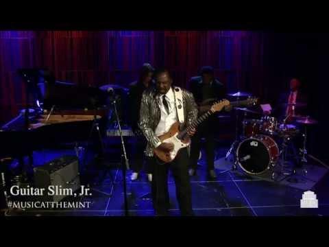 Guitar Slim, Jr performs