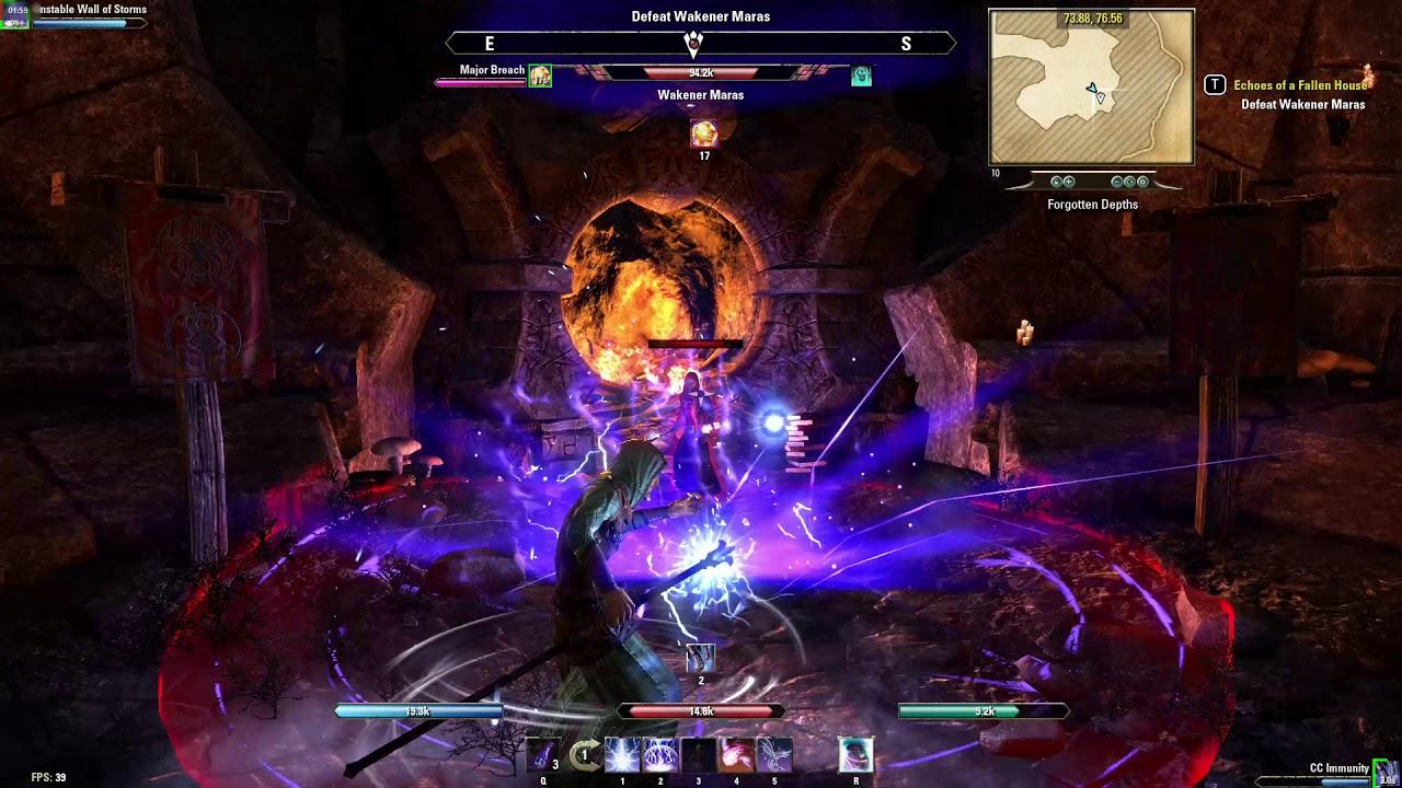 Elder scrolls online - My first public dungeon boss fight eso