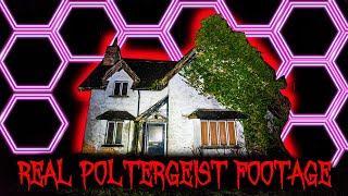 WARNING Real Poltergeist Activity Captured At Haunted House