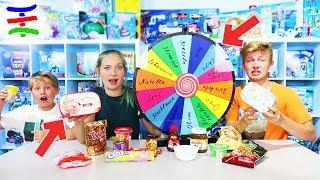 EIS machen mit GLÜCKSRAD 🍦🍭 Mystery Wheel of ice CHALLENGE mit TipTapTube Family 👨👩👦👦