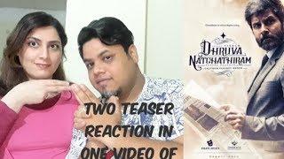 #DhruvaNatchathiram #ChiyaanVikram - Official Two Teaser Reaction |Foreigner VS Indian Reaction|