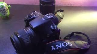 Sony Alpha A58 DSLR Camera