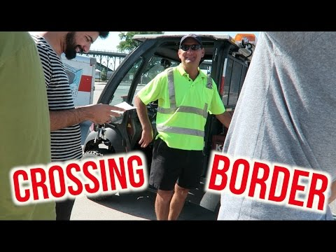 CAUGHT CROSSING CANADIAN BORDER WITHOUT PASSPORT!!