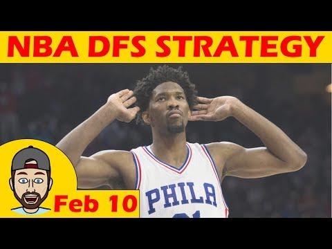 NBA DFS Projections & Strategy | Saturday 2/10 | FanDuel & DraftKings