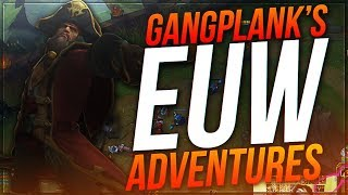 DYRUS • ADVENTURES WITH GANGPLANK ON EUW (CARRYING ON 140 PING) thumbnail