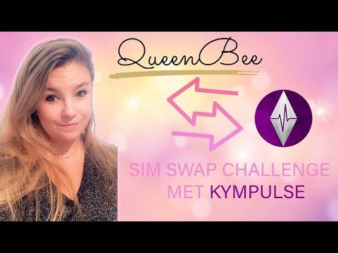 💕 SIM SWAP CHALLENGE! Met @Kympulse  💕