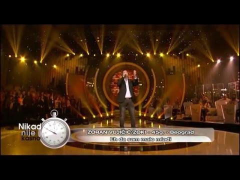 Zoran Vujicic Zoki - Eh da sam malo mladji - (live) - Nikad nije kasno - EM 31 - 30.04.2017