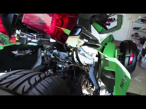How to install Can-am Spyder backrest