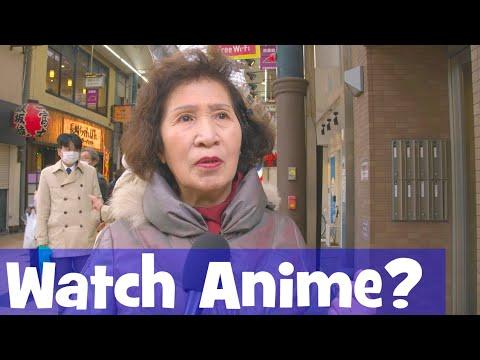 Do Japanese Elders Watch Anime? (Interview)