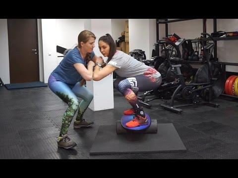 СНОУБОРД-КРОСС: Тренировка на балансборде TREEKIX