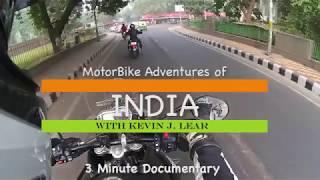 Mini Documentary 3 minute HD MotorBike Adventure in Delhi India