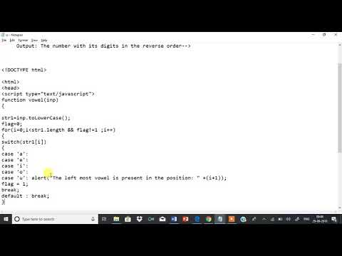 Web Lab Program 4 Develop  And Demonstrate A HTML5 File That Includes JavaScript